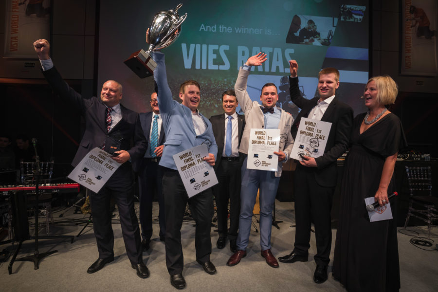 2017-2018: Exclusive interview with VISTA World Champions, Viies Ratas